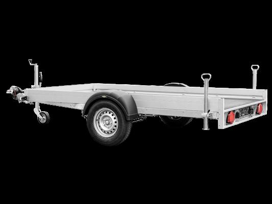 Humbaur KFT 153117 Alu - Motorradtransporter Einachser