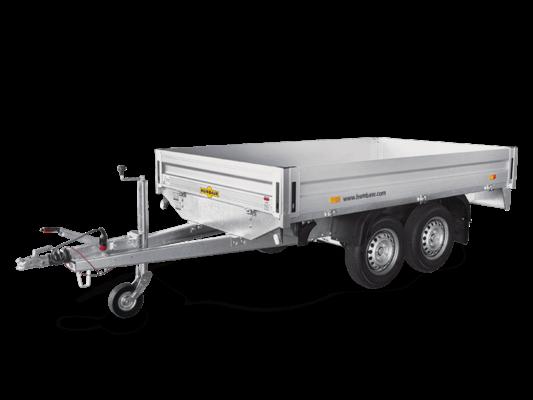 Humbaur HT 202616 / Tandem-Hochlader Pkw Anhänger